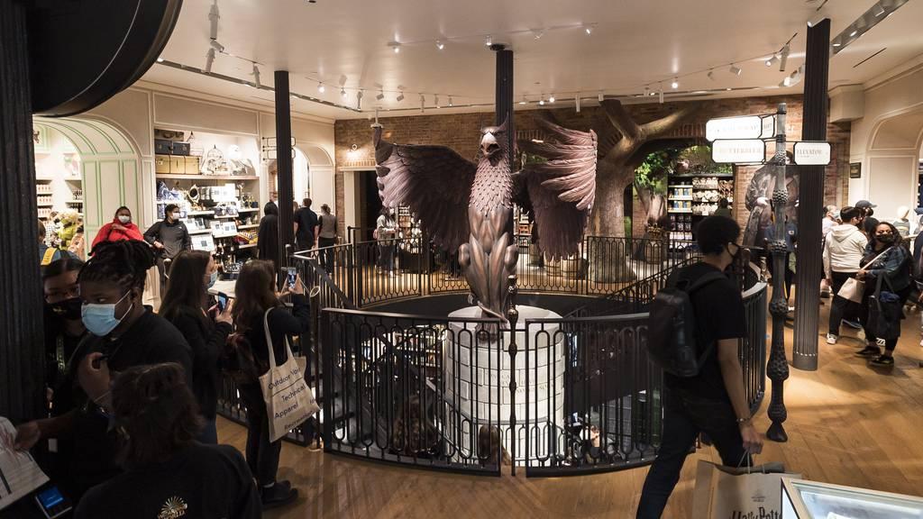 Das ist der grösste Harry-Potter-Laden der Welt