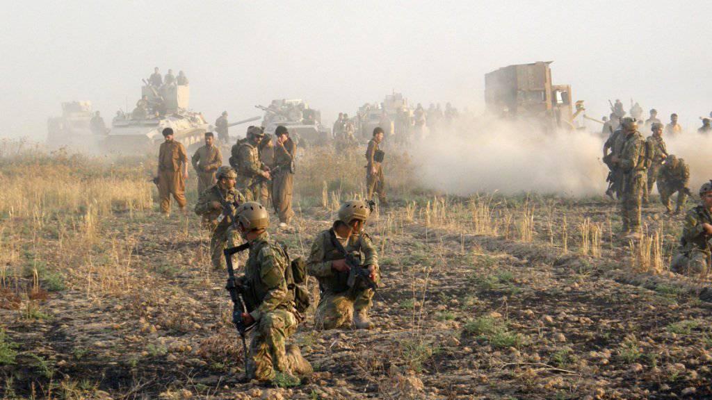 Kurdische Kämpfer sind nach Erkenntnissen des deutschen Nachrichtendienstes BND von den Dschihadisten des IS mit Senfgas angegriffen worden. (Archivbild)