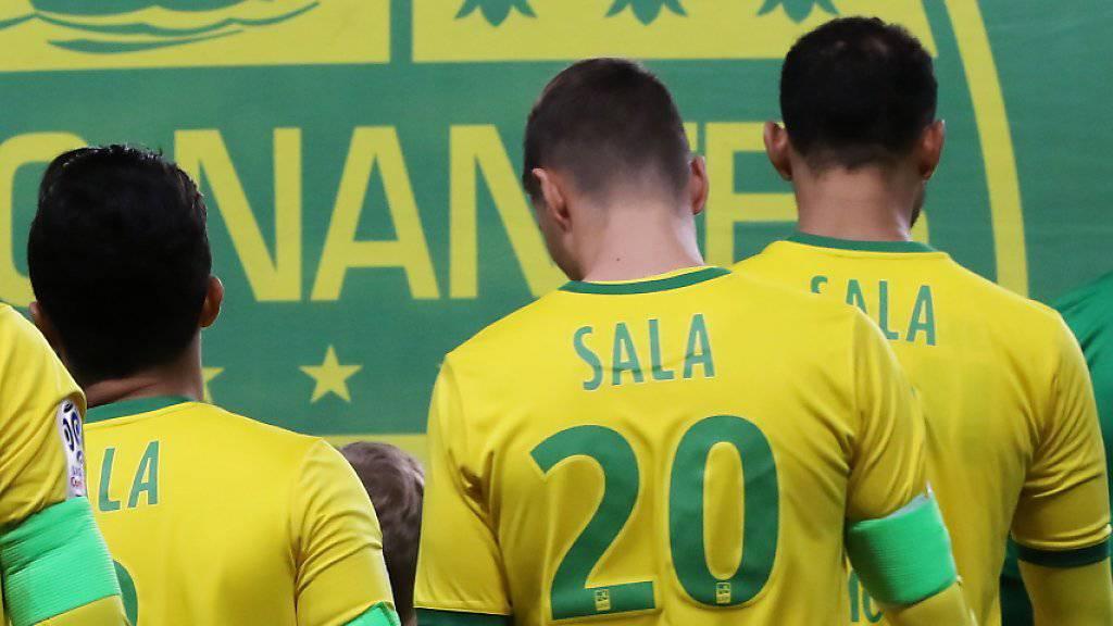 Nantes-Fans erweisen Sala die Ehre