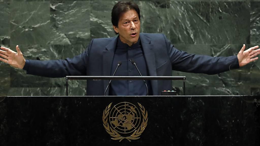 Pakistans Ministerpräsident fordert Uno-Eingreifen in Kaschmir