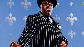 Rapper Notorious B.I.G. wurde posthum zum Götti eines Sturms. Das dürfte ihn auch im Jenseits nicht freuen (Archiv)