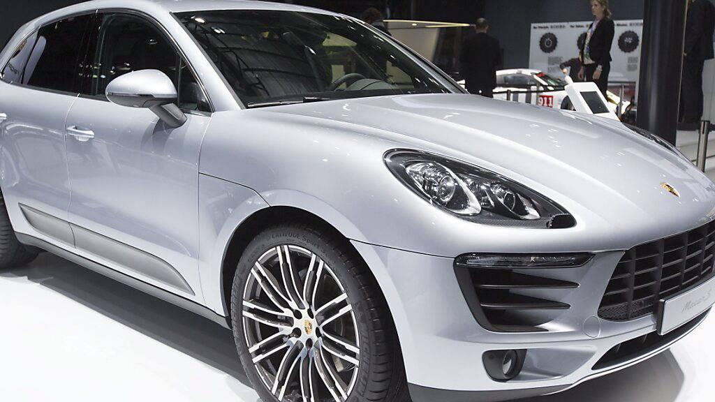 Macan ist der meistverkaufte Porsche in der Schweiz (Archivbild)