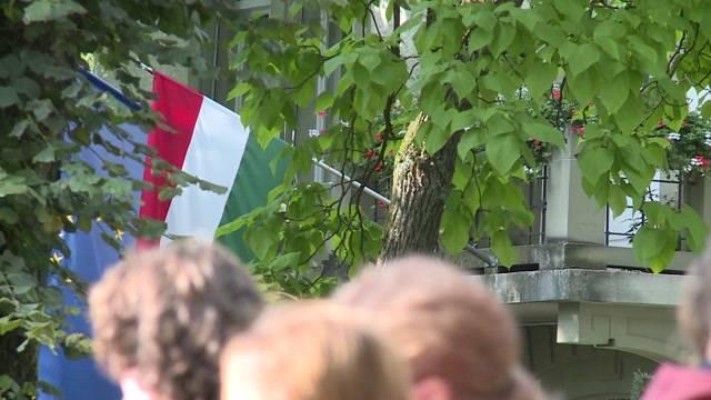 Demo gegen EU-Flüchtlingspolitik in Bern