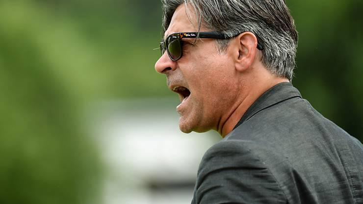 Engagierter Schaffhauser Trainer Maurizio Jacobacci