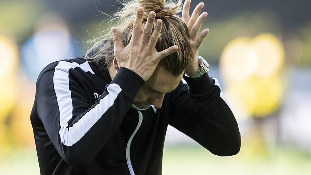 Leiden mit Barthélemy Constantin und dem FC Sion: Gegen YB drüfen die Walliser lange auf einen Punkt hoffen, gehen am Schluss aber dennoch leer aus