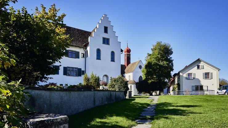 Die Klosterhalbinsel in Wettingen. Aufgenommen am 16. Oktober 2019.