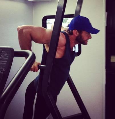 Kein Bodybuilder, aber fit wie Pommes-Frites: Hugh Jackman
