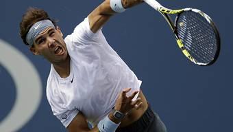 Rafael Nadal gegen Ivan Dodig in drei Sätzen weiter.