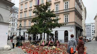 Gedenken in der Innenstadt: Der Terrorismus ist in Wien angekommen.