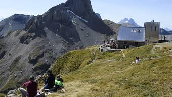In der Walliser Bergwelt.