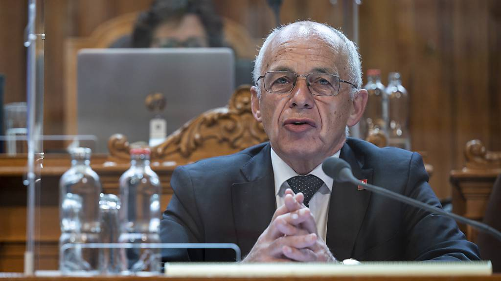 Finanzminister Ueli Maurer argumentierte am Mittwoch im Ständerat für die Abschaffung der Stempelsteuer.