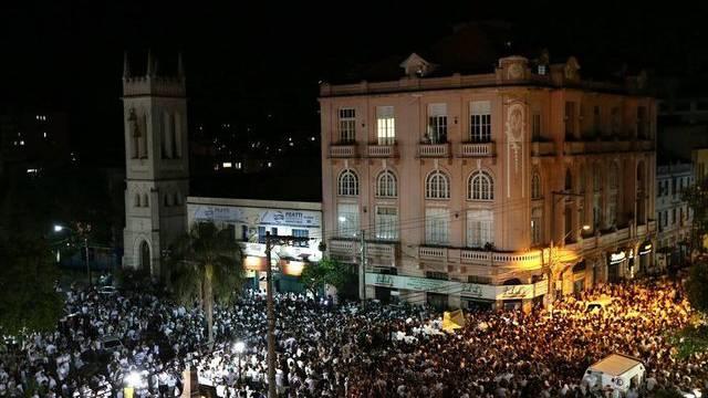 Trauermarsch in der brasilianischen Stadt Santa Maria