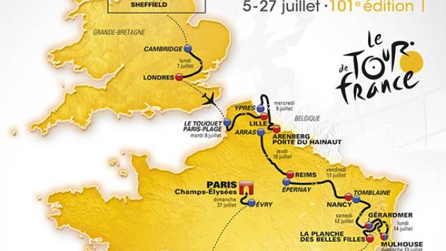 Die Tour rollt 2014 durch England und Frankreich.