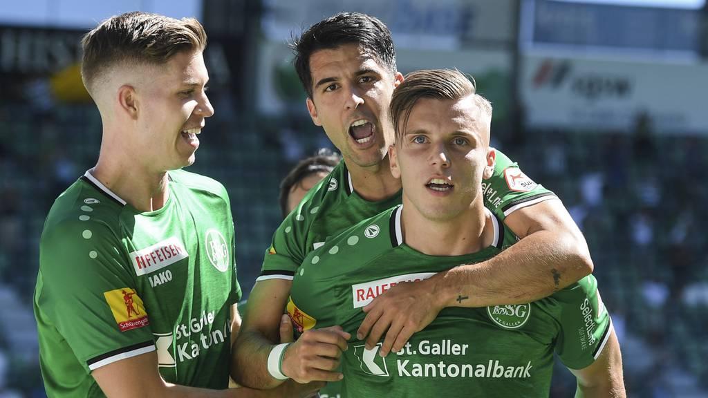 FC St.Gallen bringt Sieg über die Zeit