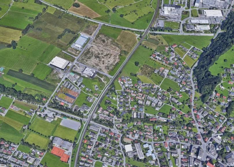 In der Nähe des Bahnhofs Dornbirn-Haselstauden geschah das Tötungsdelikt.