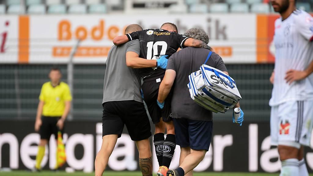 FC Lugano: Bottani fällt aus, Untersee kommt