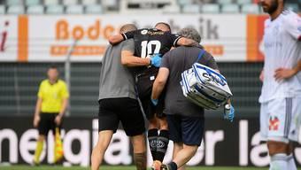 Luganos Stürmer Mattia Bottani fällt mit Knieverletzung mehrere Monate aus