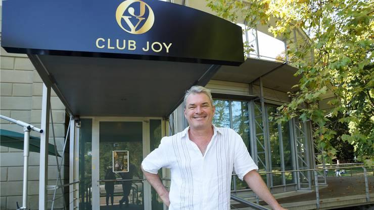 Nic Niedermann hat im Club Joy eine angesagte Konzertreihe etabliert.
