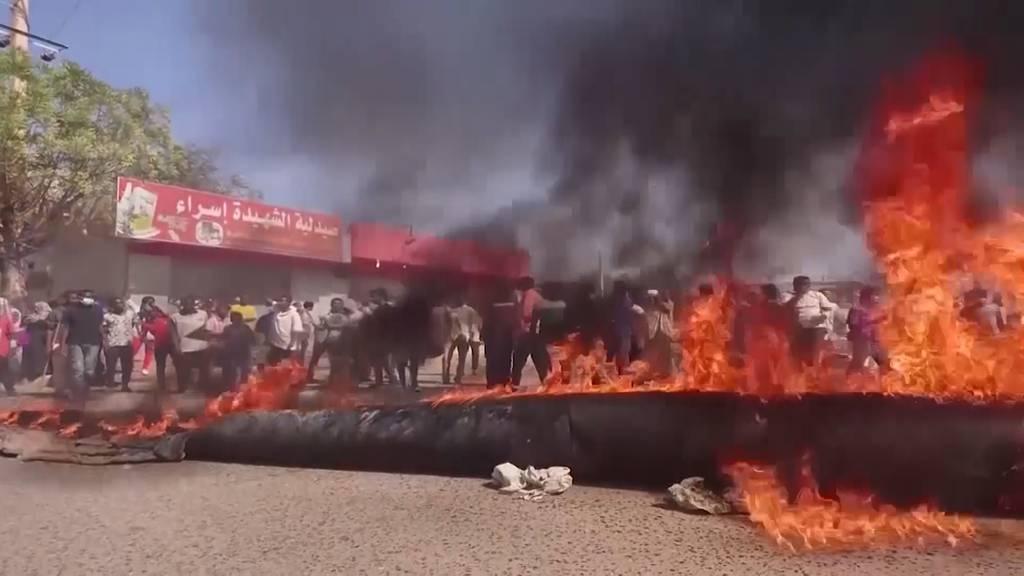 Premierminister verhaftet und Unruhen auf den Strassen: Chaos nach Militärputsch im Sudan