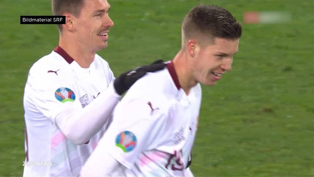 Nati-Neuling Itten schiesst 1:0 gegen Georgien