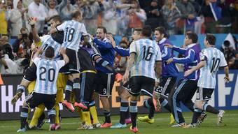 Holland-Argentinien, Halbfinal: Die Bilder zum Spiel