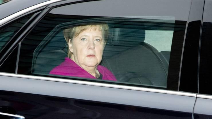 Bundeskanzlerin Angela Merkel hat CDU-Kreisen zufolge angekündigt, nicht mehr für den Parteivorsitz zu kandidieren. Im Bild: Merkel bei ihrer Ankunft in Berlin.