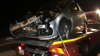 Schwerer Unfall auf Todesstrasse