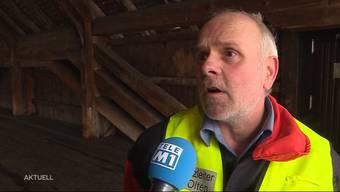 Rolf Friedli, Einsatzleiter der Feuerwehr Olten, war wegen der alten Brücke schon mehrmals im Einsatz. Im Interview beurteilt er das Feuer vom Mittwoch.