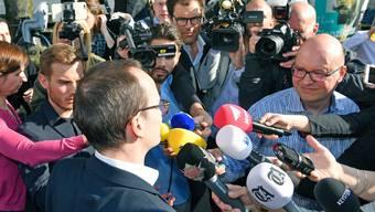 Newcomer Martin Neukom (Grüne) wird in die Regierung gewählt.