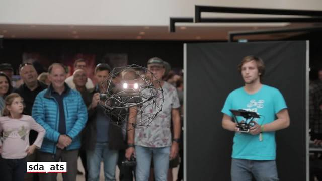 "Präzisionsflüge an den ""Drone Days"" in Lausanne"