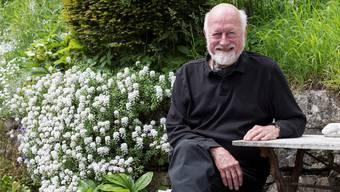 Sein 1300 Quadratmeter grosser Garten in Ennetbaden ist nur eine von Marc Thurys Leidenschaften.