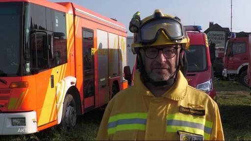 Feuerwehrmann aus Freienwil hilft im Deutschen Krisengebiet