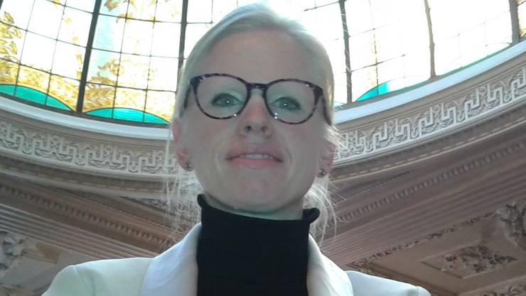 Laetitia Brandariz-Berrut (37), Hoteldirektorin, Paris