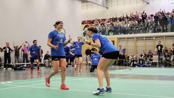 Das Team Argovia steht zum dritten Mal in Serie im Playoff-Halbfinal.