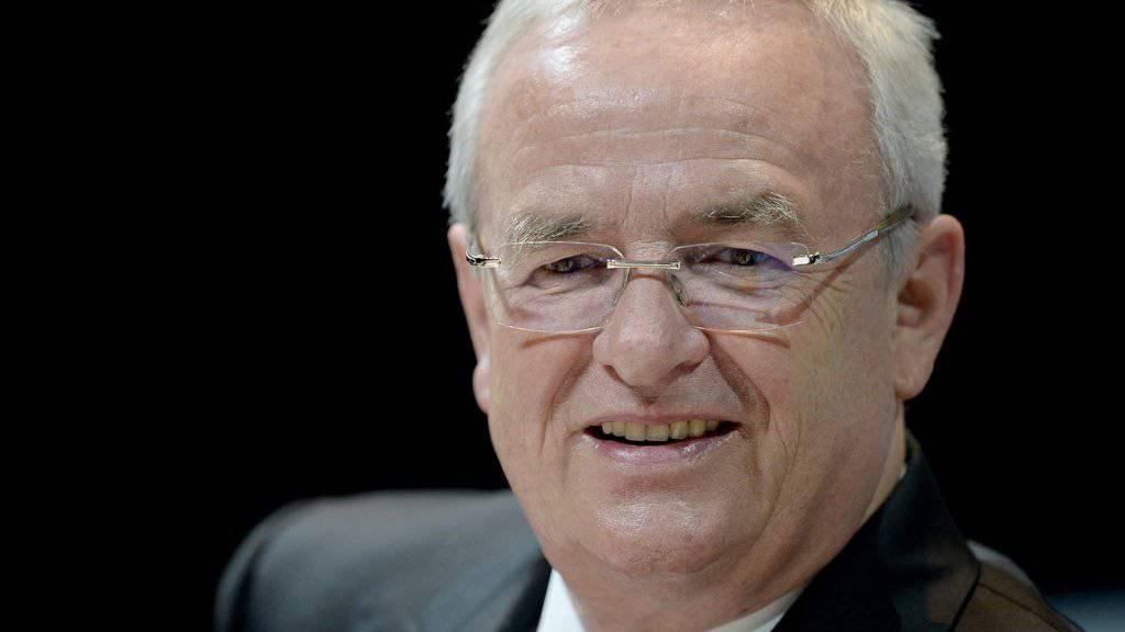 Martin Winterkorn steht laut Medienberichten weiter auf dem Gehaltszettel von VW. (Archiv)