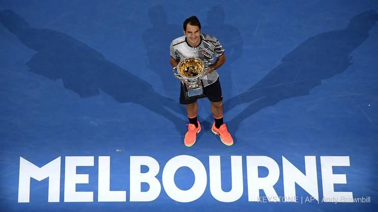 Das letztjährige Australian Open konnte Roger Federer für sich entscheiden