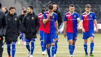 Hängende Köpfe: Der FC Basel kann YB wieder nicht besiegen.