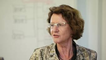 Susi Rupp, Präsidentin der Frauenzentrale Aargau.