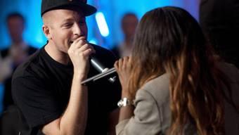 Das Singen überlässt Rapper Stress lieber anderen (Archiv)