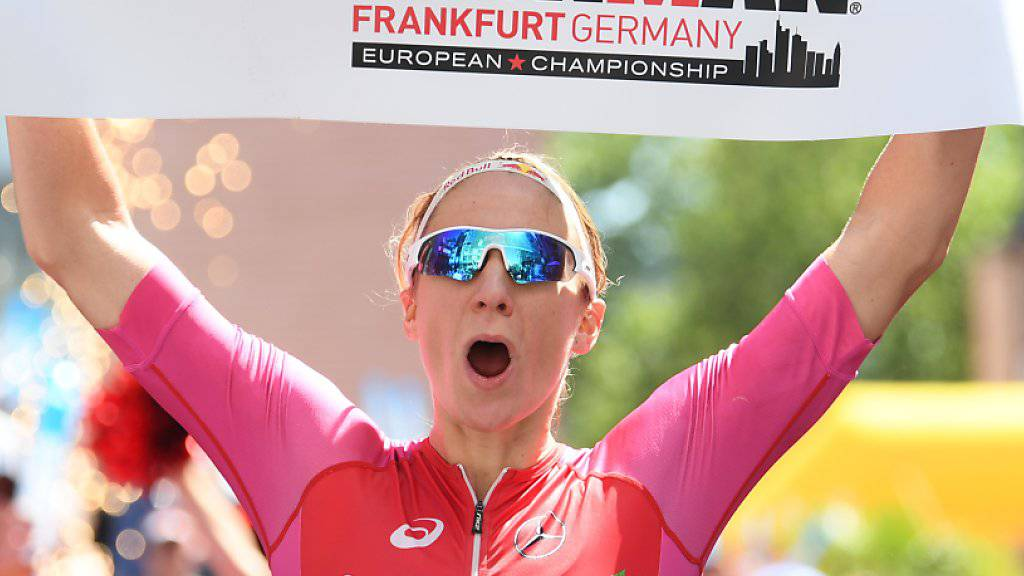 Daniela Ryf enteilte an der Ironman-EM in Frankfurt der gesamten Konkurrenz