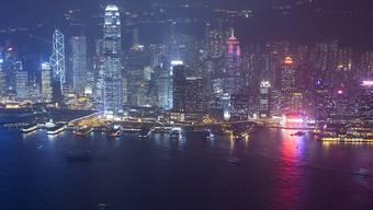 In Hongkong ist der Immobilienmarkt besonders stark überbewertet. (Archivbild)
