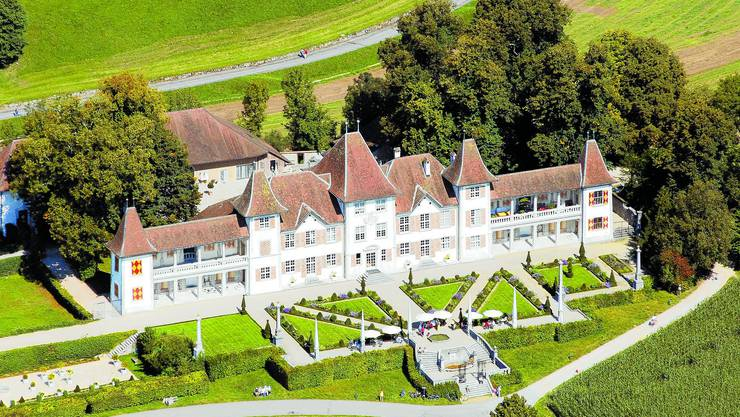 Im Schloss Waldegg wird die IG Kulturregion Solothurn am 2. Dezember gegründet werden. (Foto: Simon Dietiker)