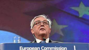EU-Kommissionspräsident Juncker hat seine Teilnahme am WEF abgesagt.