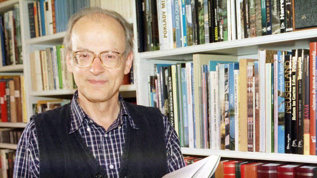 Völkerrechtler Luzius Wildhaber gestorben
