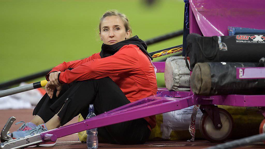 Nicole Büchler darf nun nach einer anstrengenden Saison eine Pause einlegen