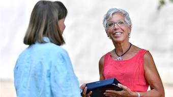 Diskretion spielt bei der Psychiatriespitex eine wichtige Rolle. Deshalb trägt Psychiatrie-Pflegefachfrau Martje Lanz von der Spitex Gäu weder die Berufskleidung, noch ist sie mit einem gekennzeichneten Auto unterwegs.