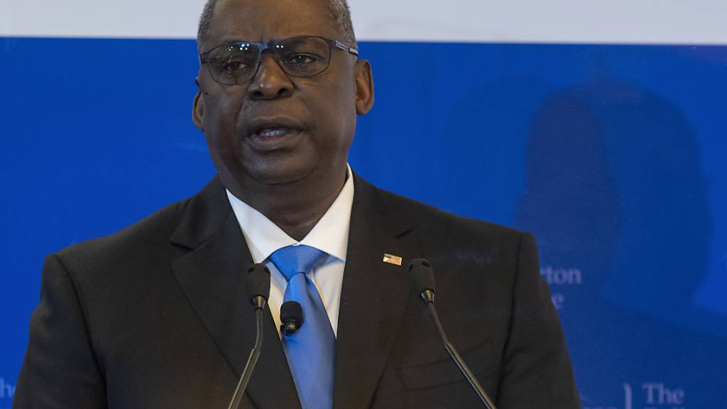 FILED - US-Verteidigungsminister Lloyd Austin. (Archivbild) Photo: Chad J. Mcneeley/US Secretary of Defence/dpa - ATTENTION: editorial use only and only if the credit mentioned above is referenced in full