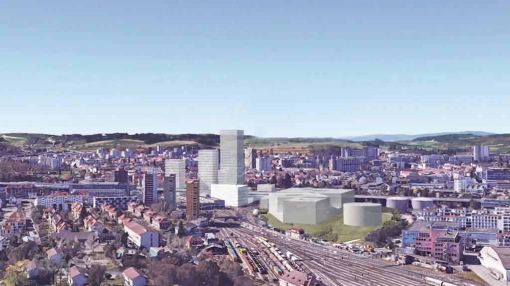 EWB will hoch hinaus: Neue Hochhäuser in Ausserholligen