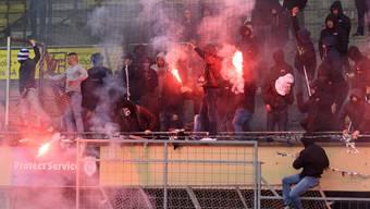 Nach Spielabbruch: Mehrere Lausanner Fussballchaoten festgenommen