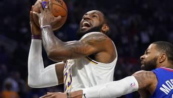 LeBron James (links) setzt auch ausserhalb des Basketball-Courts Akzente